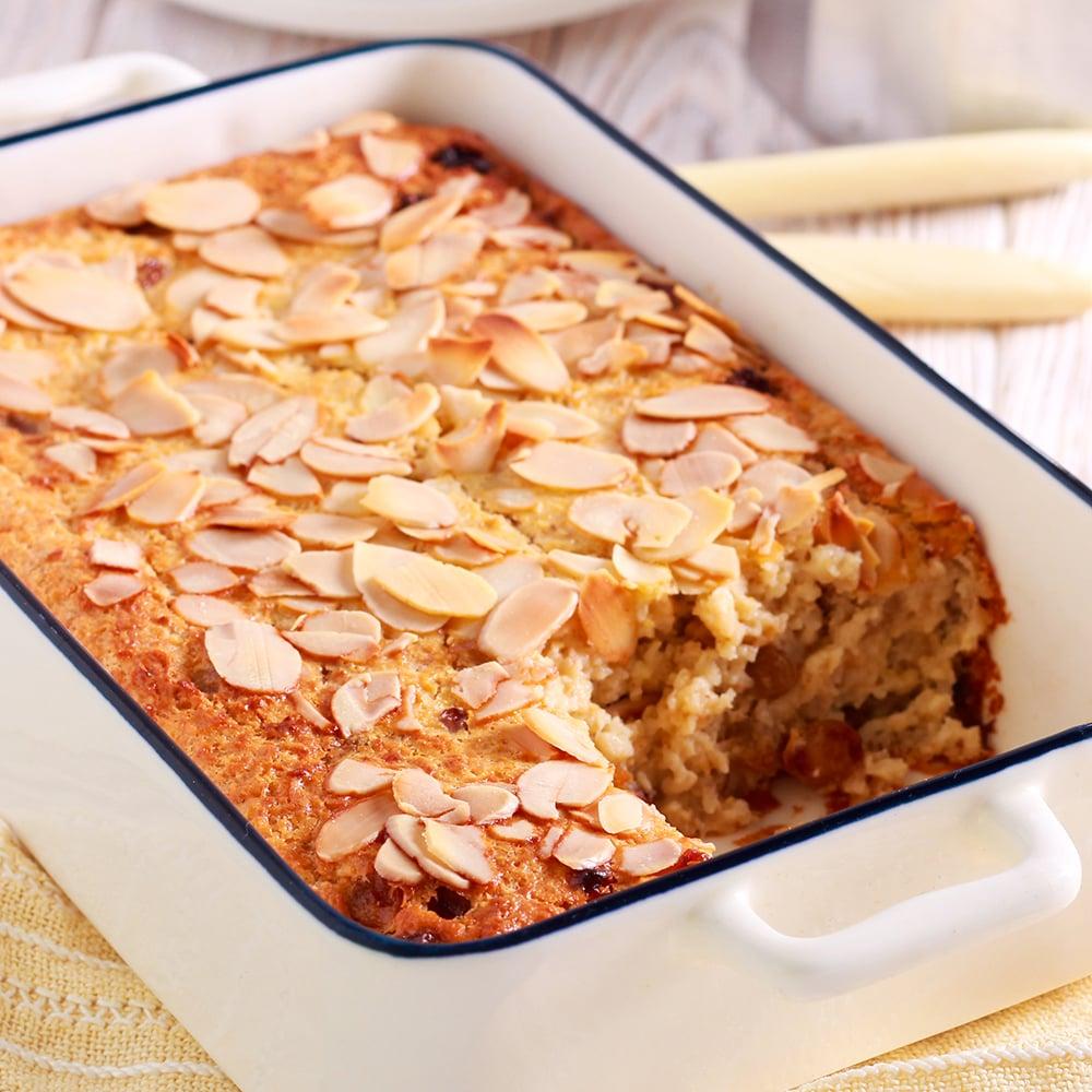 baked cherry almond oatmeal